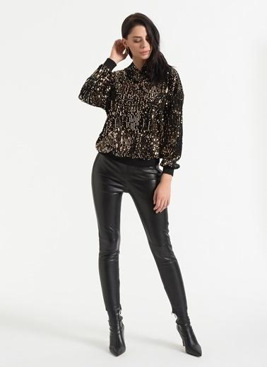 Styletag Sweatshirt Siyah